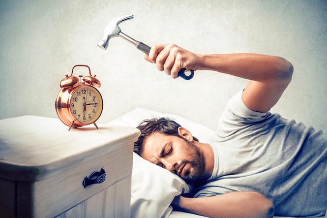 Время суток для сна