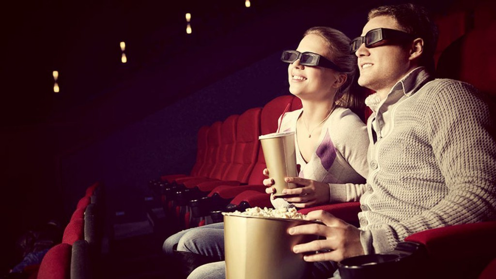 С девушкой в кино