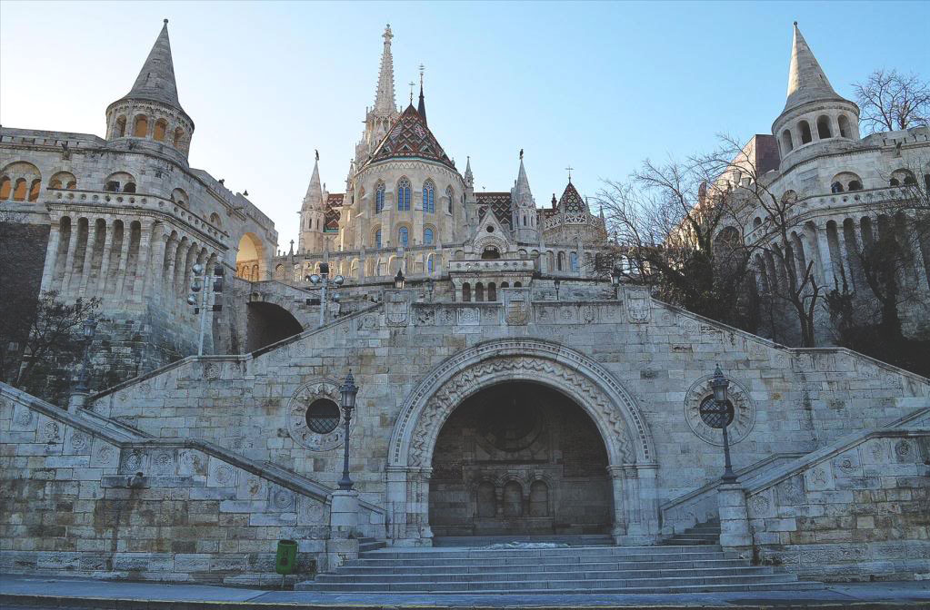 Будайский замок в Будапеште