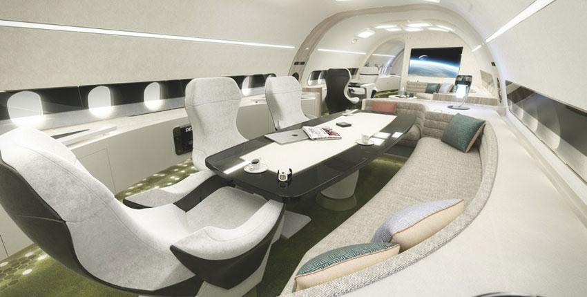 Airbus ACJ320neo Melody салон
