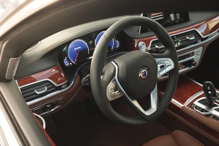 BMW Alpina руль