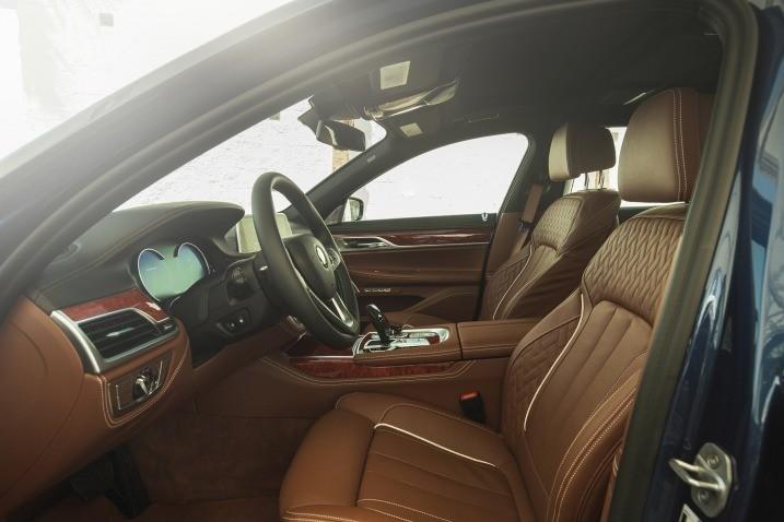 BMW Alpina салон