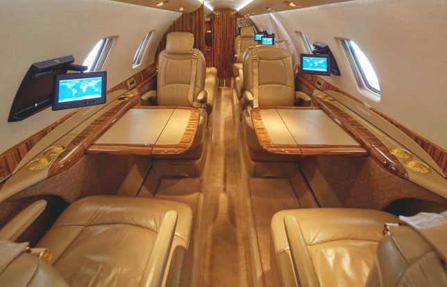 Cessna Citation Sovereign салон