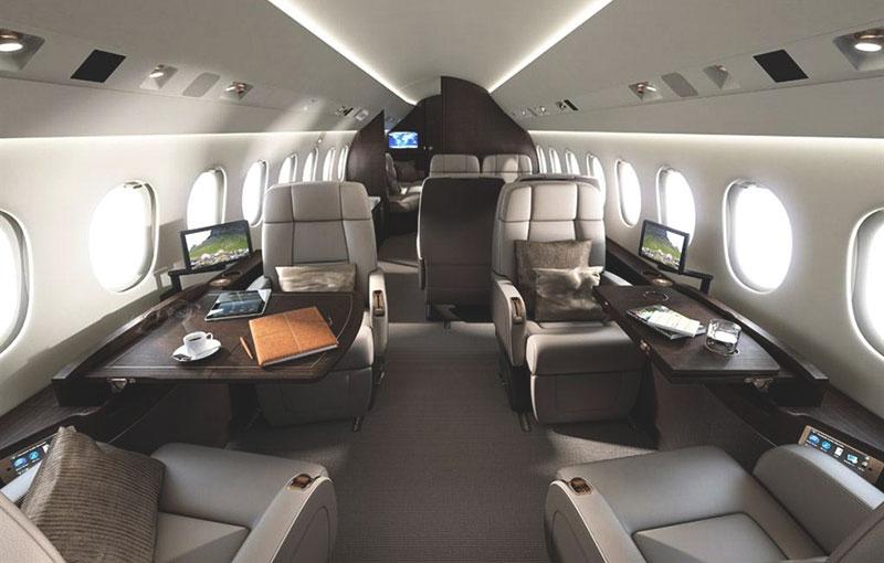 Dassault Falcon 900LX салон
