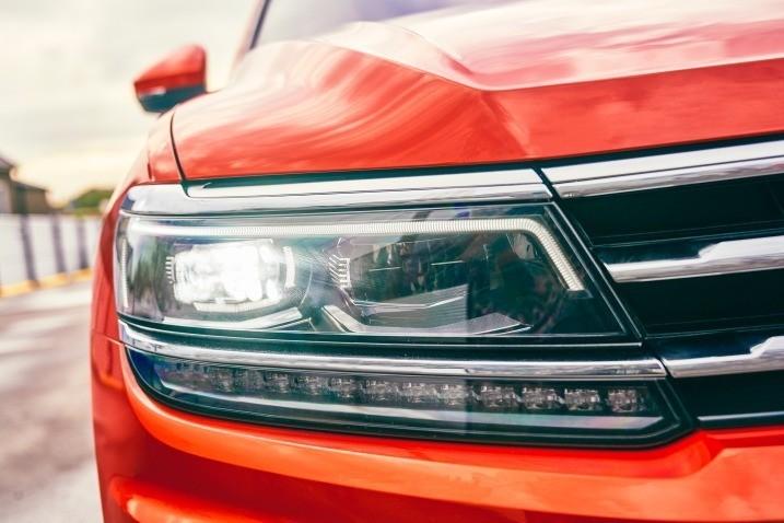 Volkswagen Tiguan - фары