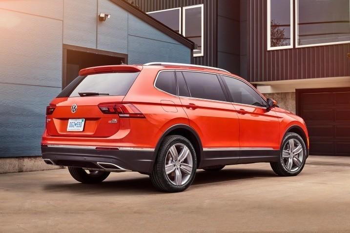 Volkswagen Tiguan - профиль