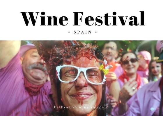 Фестиваль вина в Испании