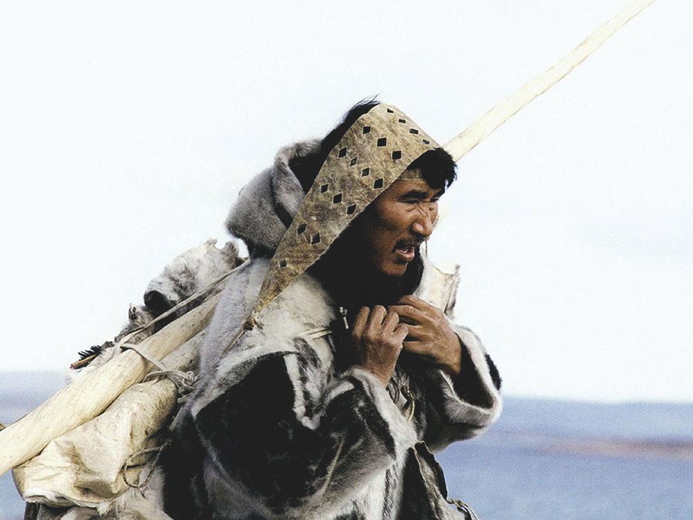 Анорак эскимоса