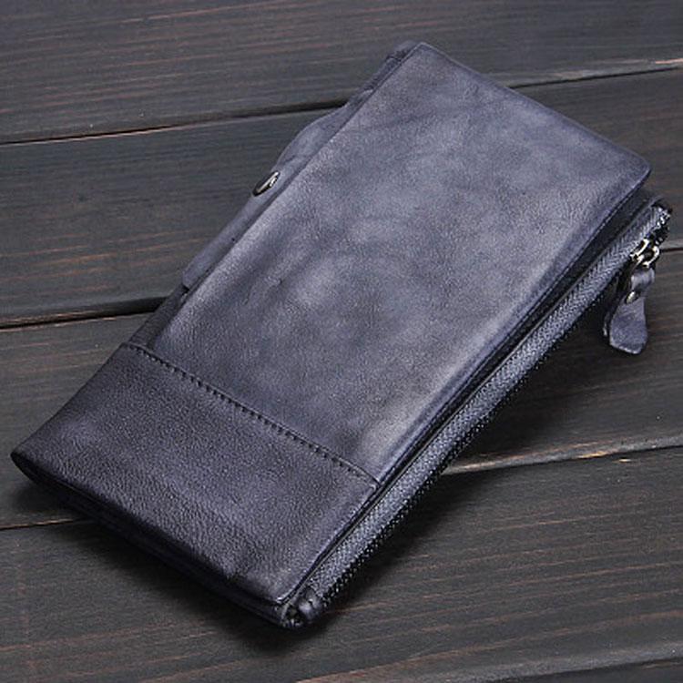 Бизнес-кошелёк из коровьей кожи