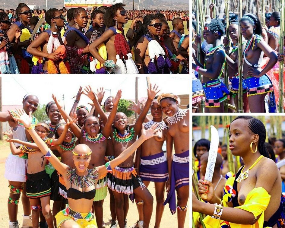 Церемония Умхланга Свазиленд