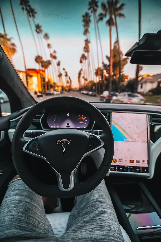 Автомобиль с автопилотом