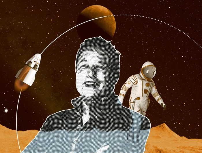 Илон Маск летит на Марс