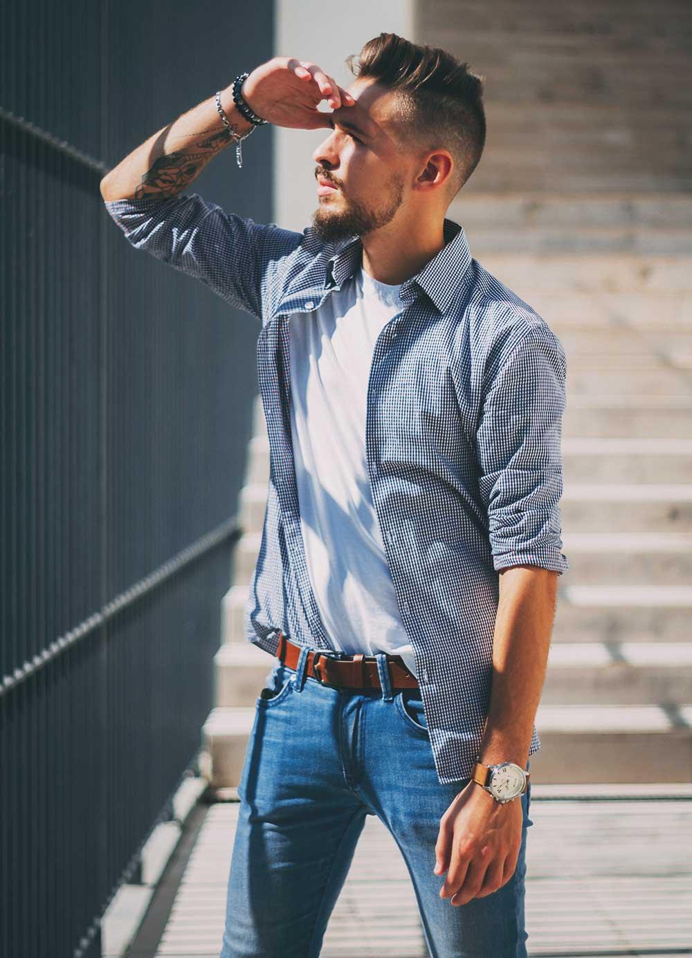 Мужчина за 30 с высоким уровнем тестостерона