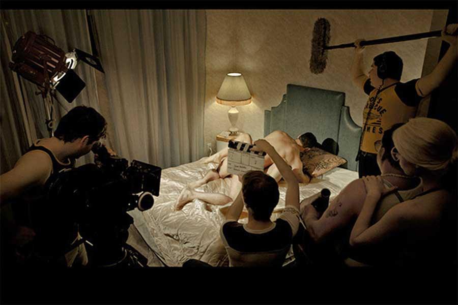 Съёмки порно