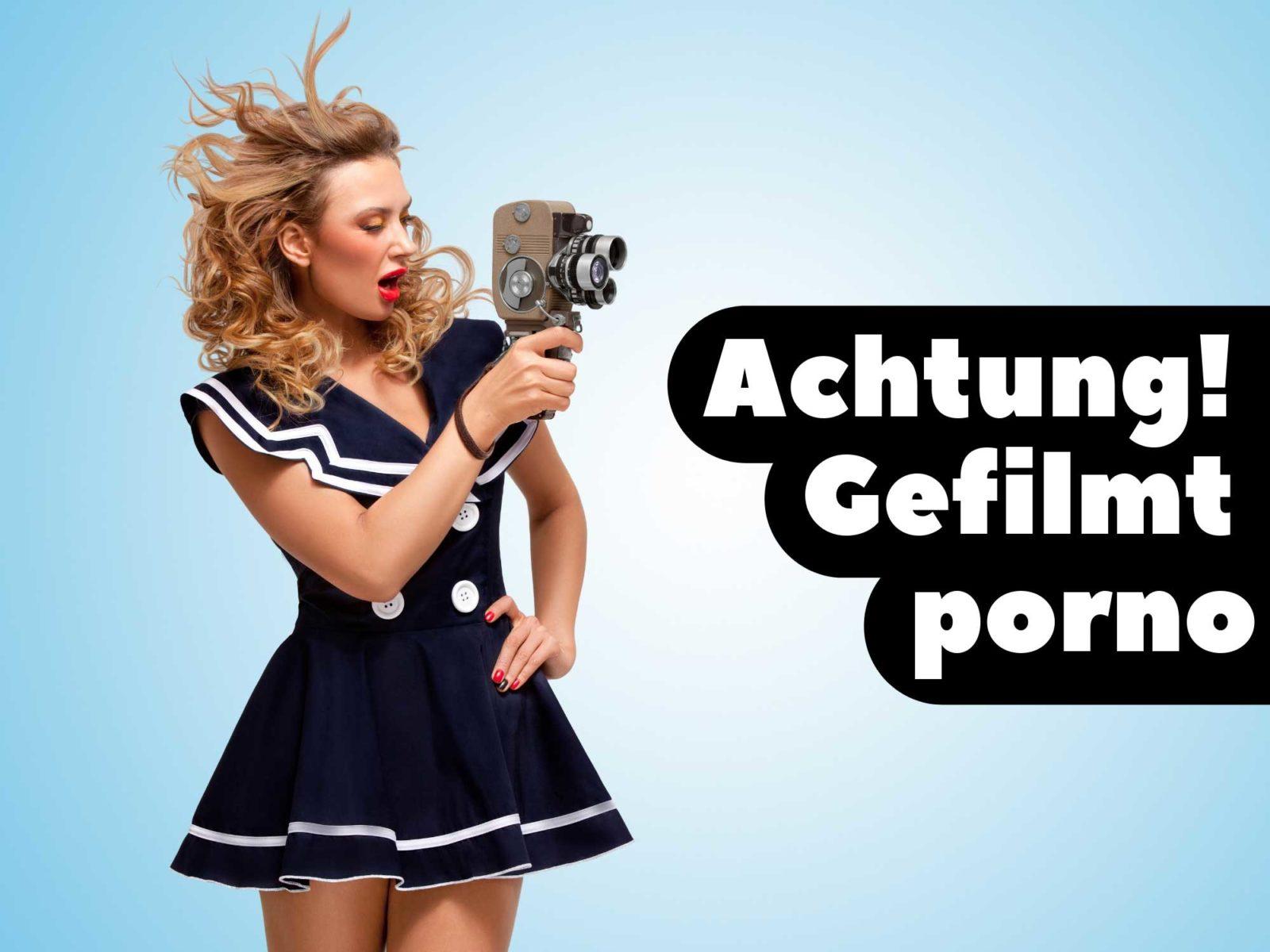 Процесс съёмок порно