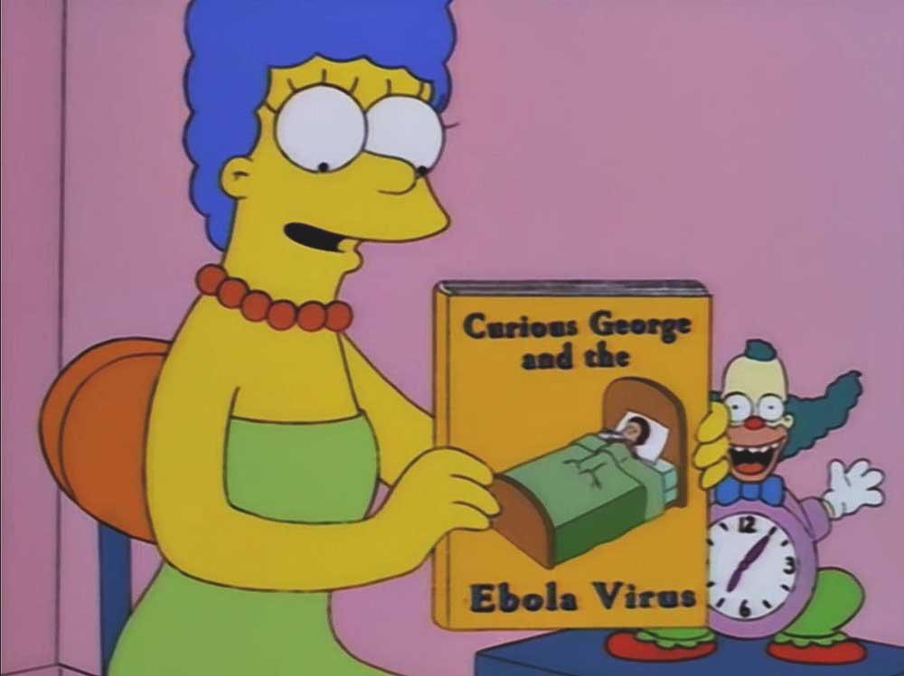 «Любопытный Джордж и вирус Эбола»