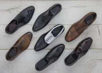 Мужская английская кожаная обувь
