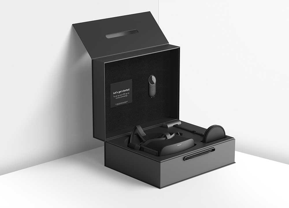 Oculus Rift в упаковке