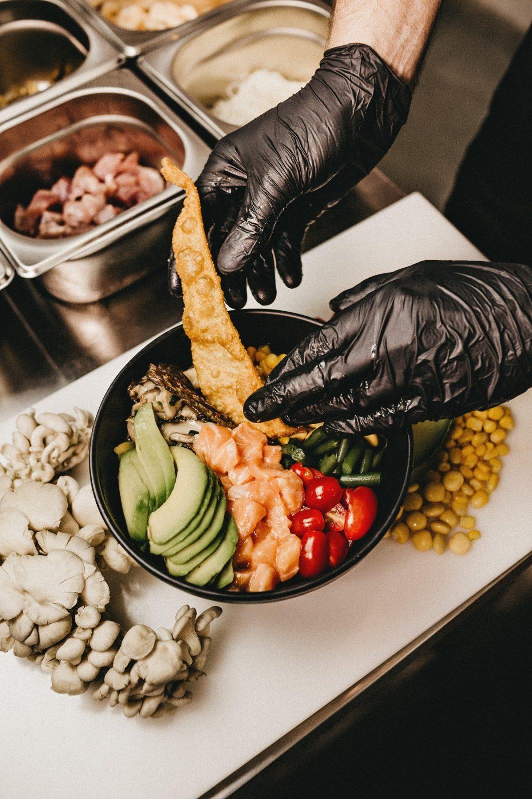 Пищевые перчатки
