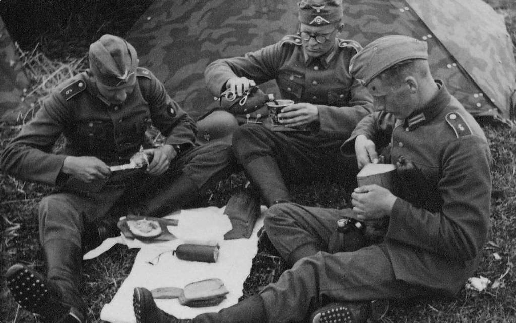 Военная немецкая кухня