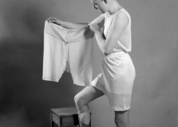 Мужское нижнее бельё 1920 года