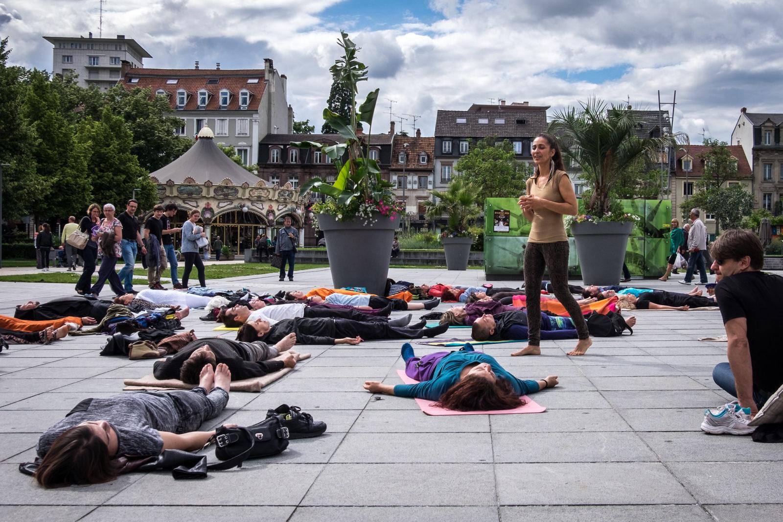 Массовая Yoga Nidra
