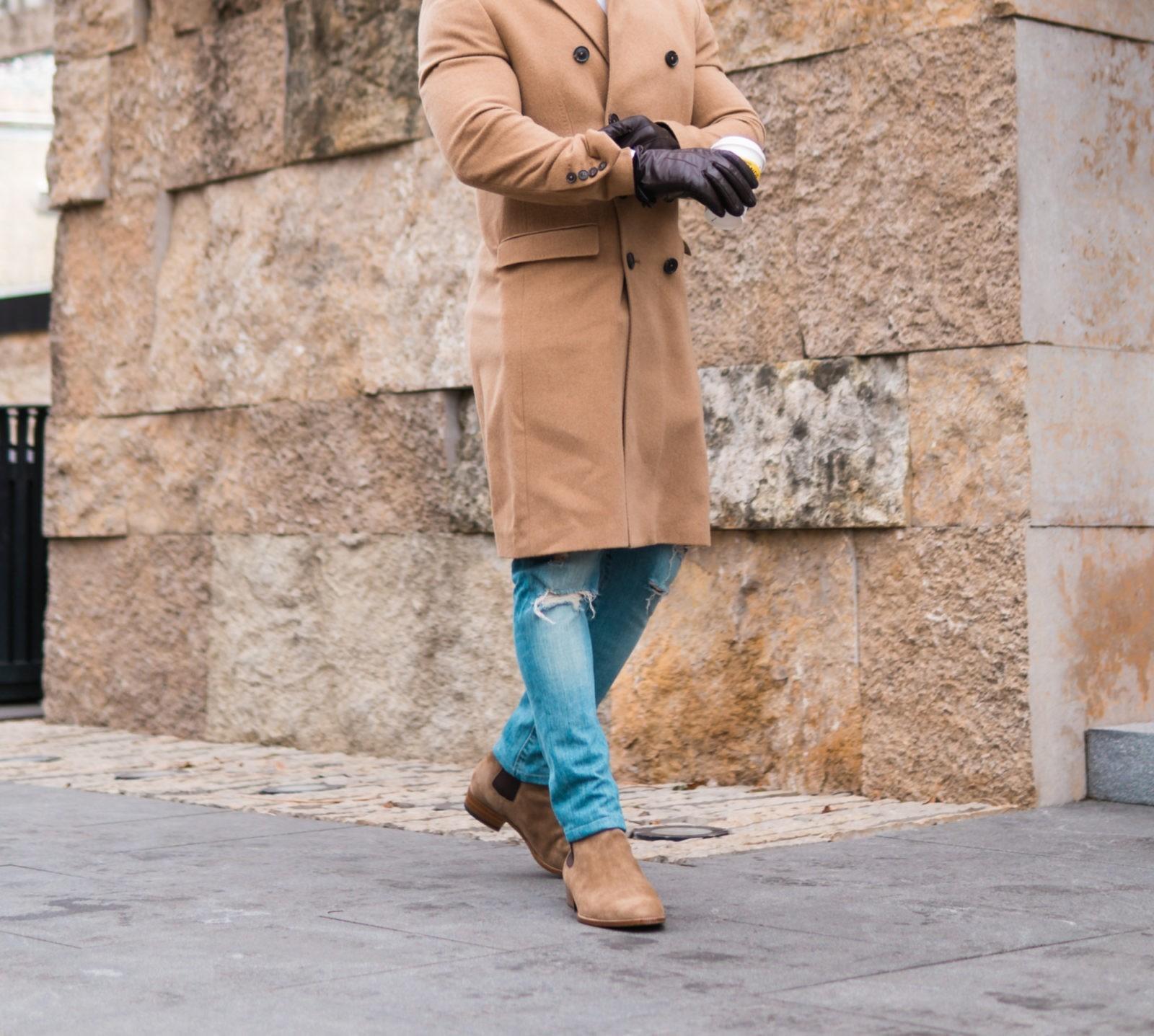 Мужской образ с ботинками челси