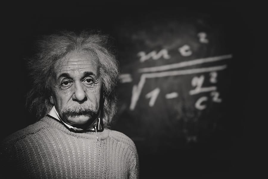 Albert Einstein E=mc²