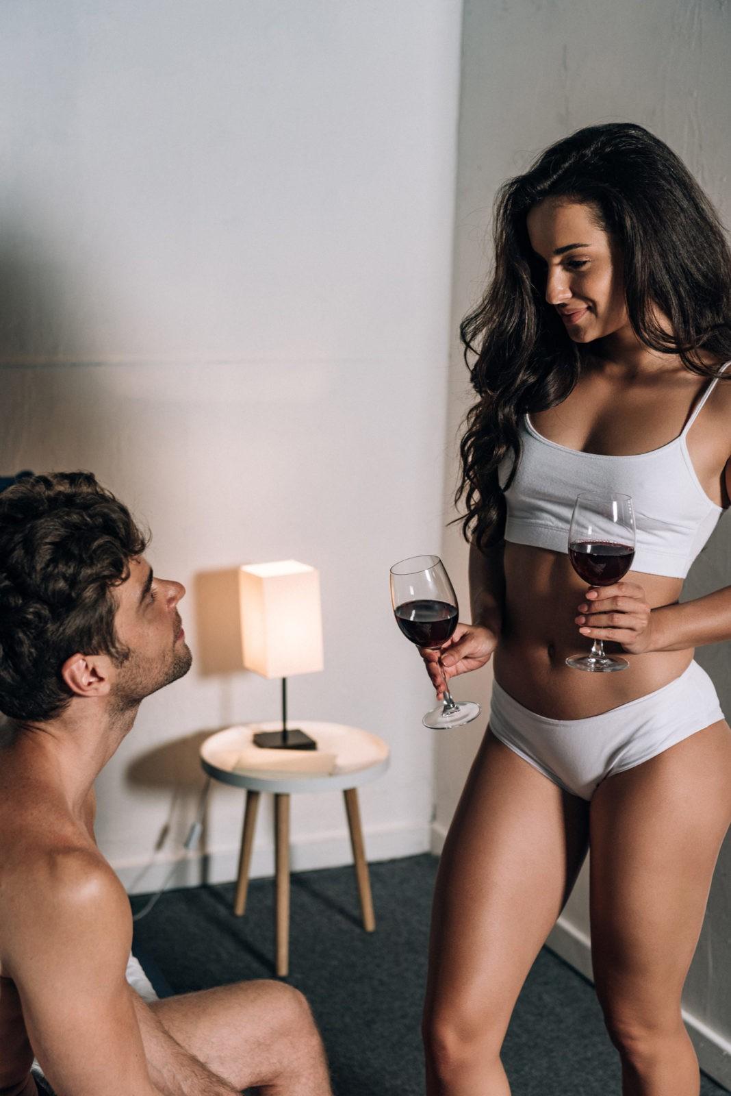 Красное вино и секс