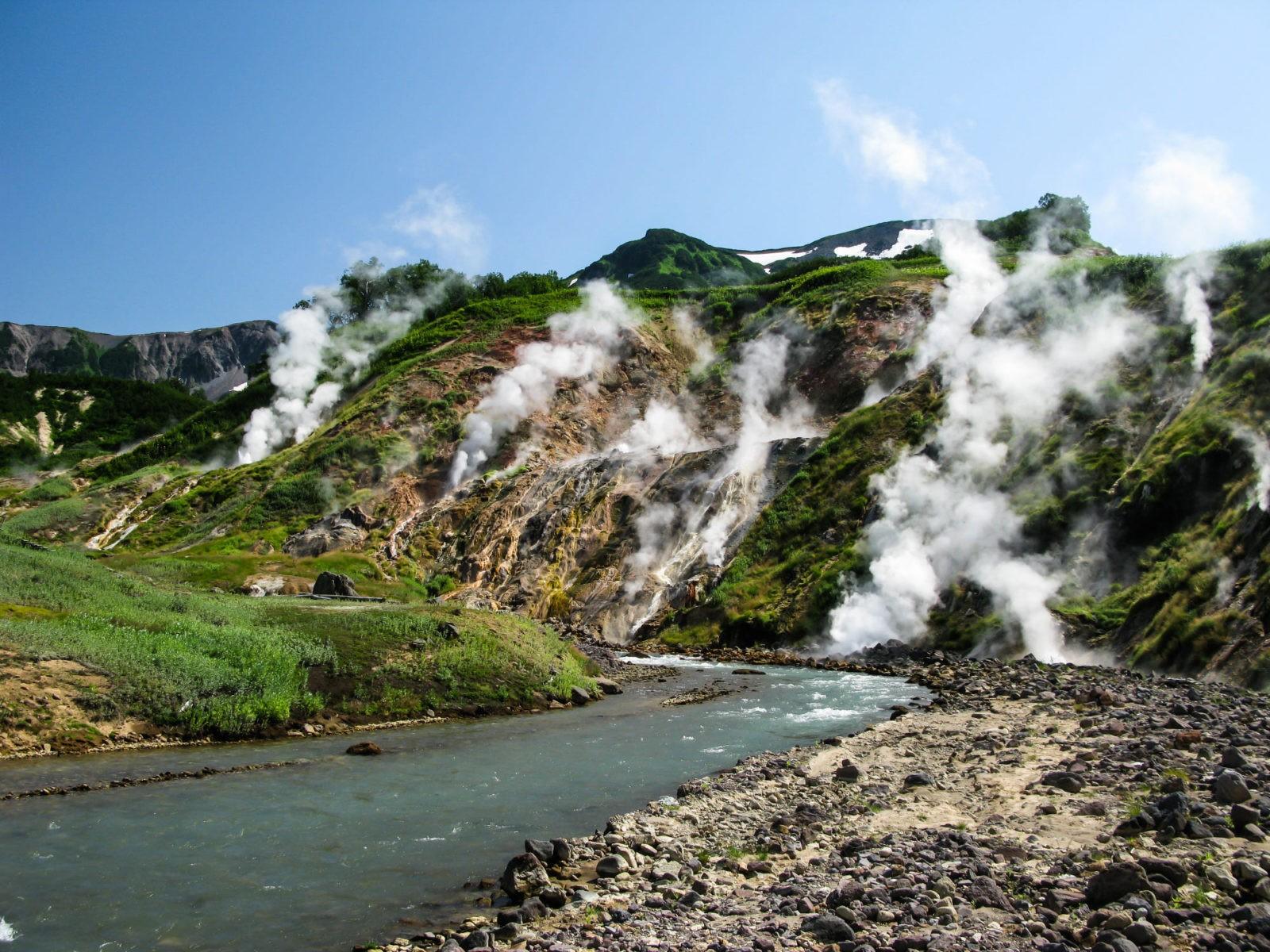 Камчатка долина гейзеров