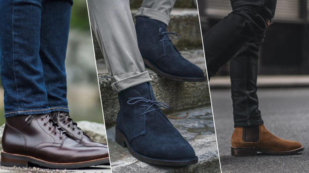 3 лучшие модели мужских ботинок