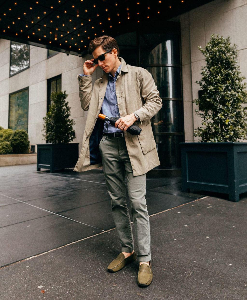 Как носить мужские брюки чинос