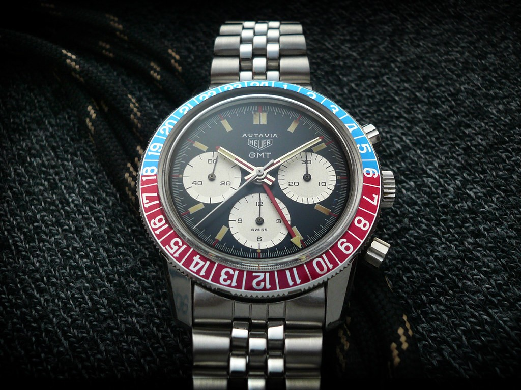 Часы Heuer Autavia GMT