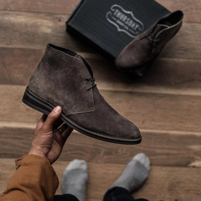 Мужские ботинки чукка