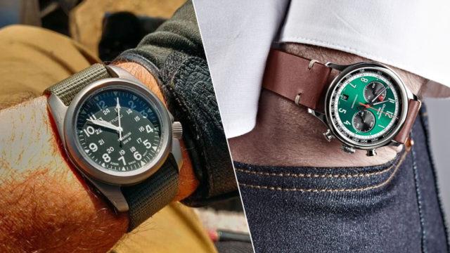 Кварцевые часы для коллекции